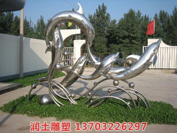不锈钢雕塑 (4)