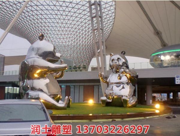 不锈钢雕塑 (2)