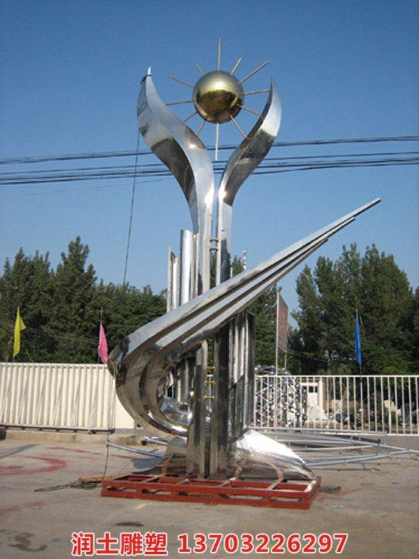 不锈钢雕塑 (6)