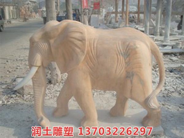 石雕大象 (19)