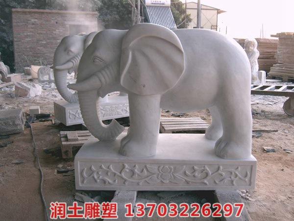石雕大象 (2)