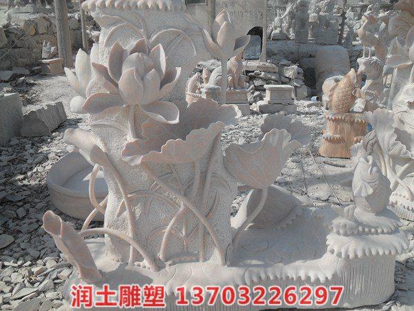石雕荷花鲤鱼 (14)
