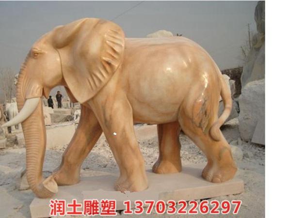 石雕大象 (4)