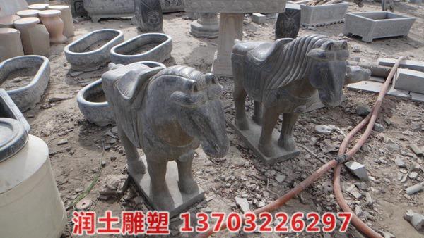 石雕唐马 (2)