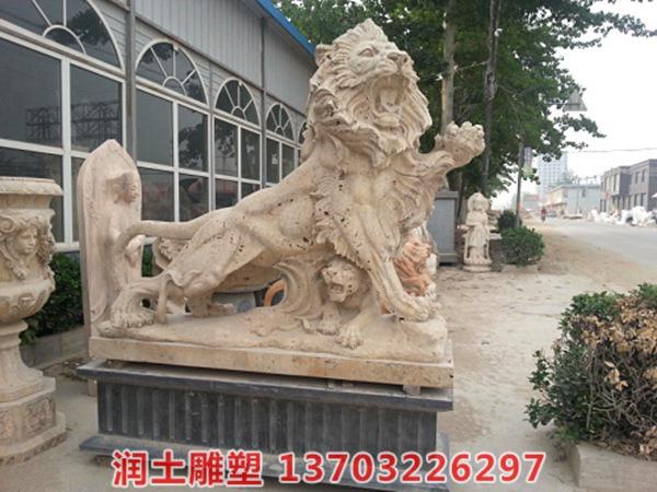 欧式石狮子 (4)