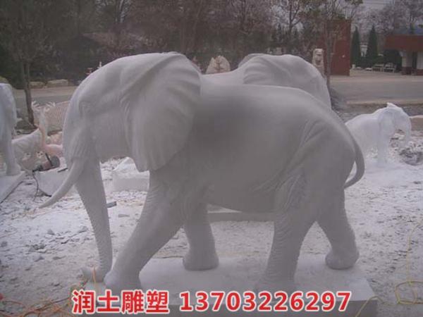 石雕大象 (12)