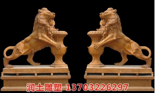 欧式石狮子 (10)