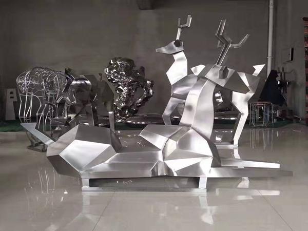 不锈钢雕塑(5)